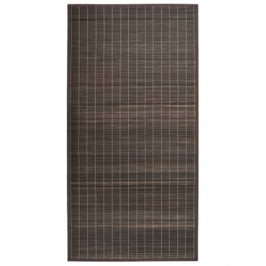 vidaxl teppich bambus 80 x 200 cm dunkelbraun g nstig kaufen. Black Bedroom Furniture Sets. Home Design Ideas