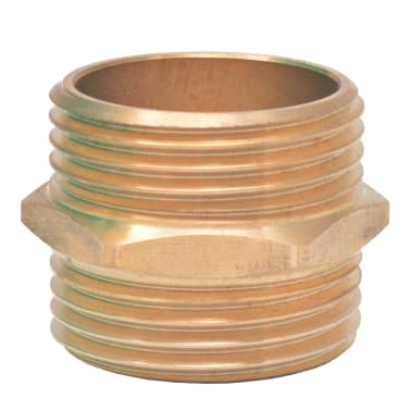 vidaXL Suction Hose with Brass Connectors 4 m 25 mm Green[6/7]
