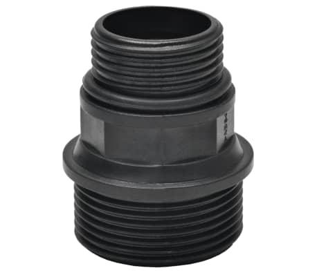 vidaXL Tuyau d'aspiration avec raccords 7 m 22 mm Vert[5/6]