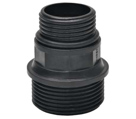 vidaXL Tuyau d'aspiration avec raccords 10 m 22 mm Vert[5/6]