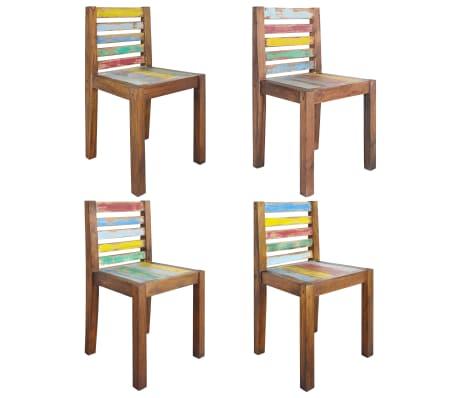 45d3438a52b1 vidaXL Jedálenské stoličky 4 ks recyklované drevo z lodí 45x45x85 cm 1 12