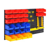 vidaXL Wall-Mountable Garage Tool Organiser