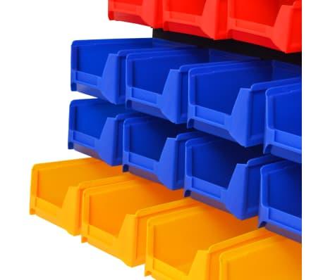 vidaXL Organizador de herramientas de garaje de montaje en la pared[4/6]