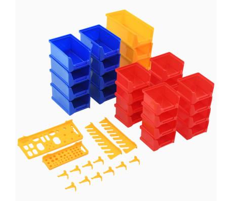 vidaXL Organizador de herramientas de garaje de montaje en la pared[5/6]