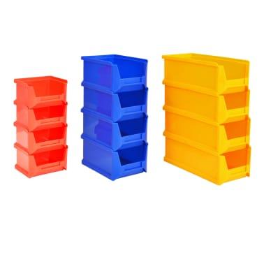 vidaXL Organizador de herramientas de garaje de montaje en la pared[6/6]