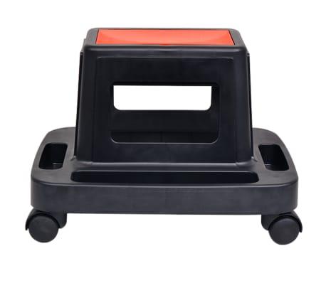 vidaXL Rullande verkstadspall med förvaring 150 kg[2/4]