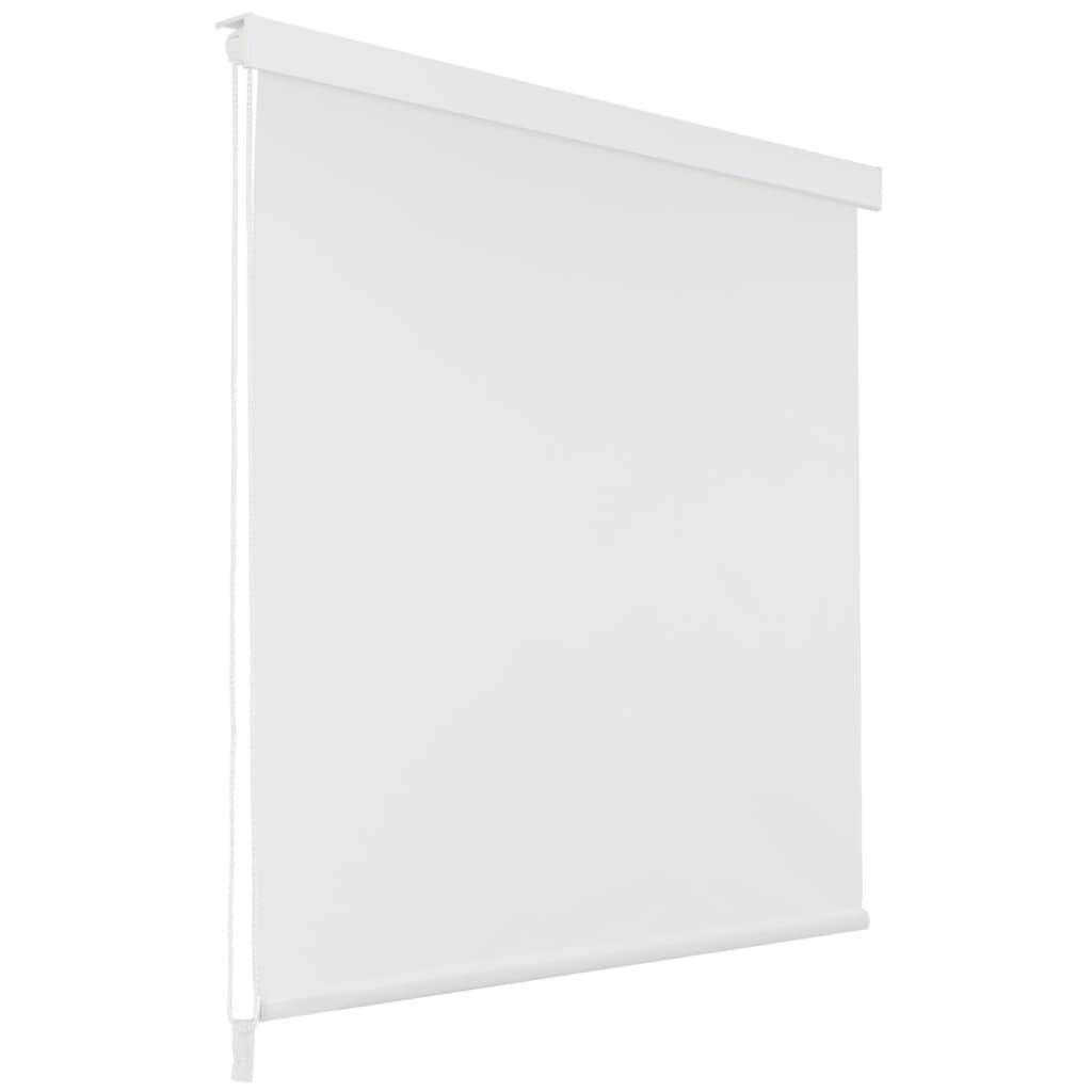Sprchová roleta 80 x 240 cm bílá