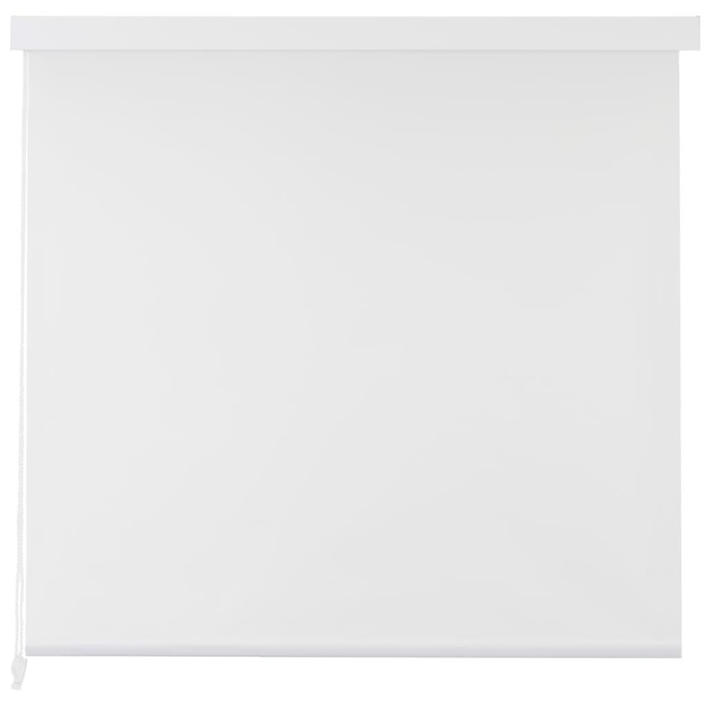 Rolo senčilo za tuš 140x240 cm bele barve