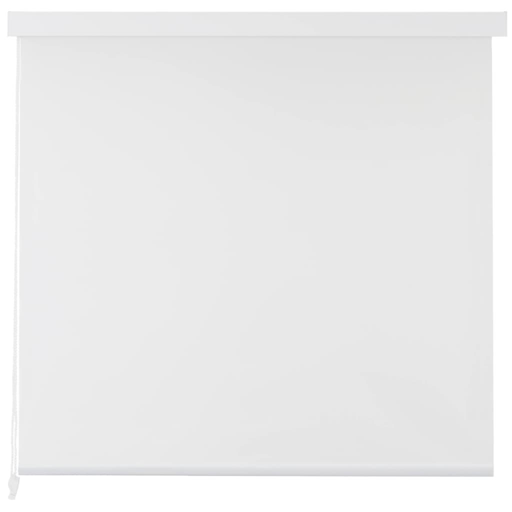 Rolo senčilo za tuš 160x240 cm bele barve