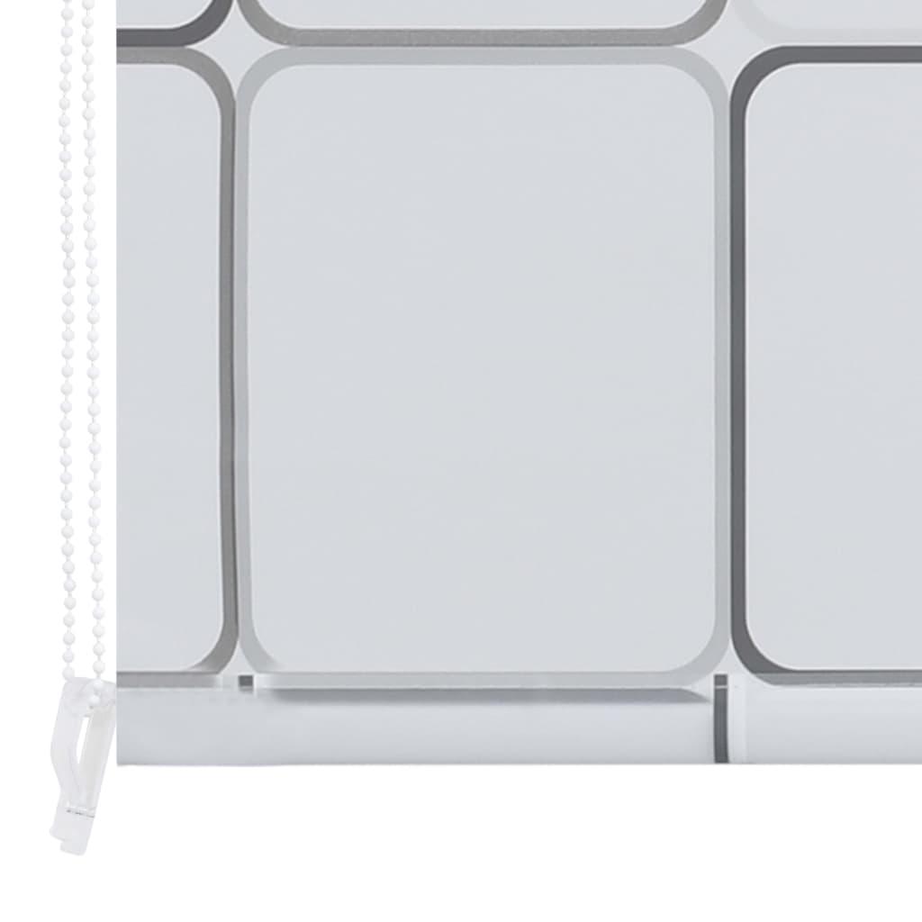 Rolo senčilo za tuš 80x240 cm kvadratni vzorci