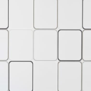 vidaXL Dušo roletas, 120x240 cm, kvadratų raštas[5/6]