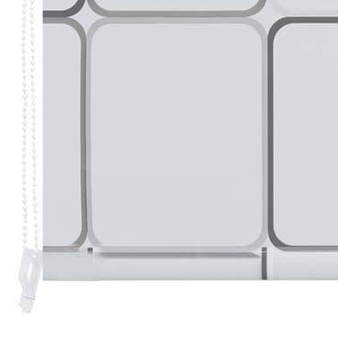 vidaXL Dušo roletas, 120x240 cm, kvadratų raštas[6/6]