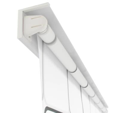 vidaXL Dušo roletas, 140x240 cm, kvadratų raštas[3/6]