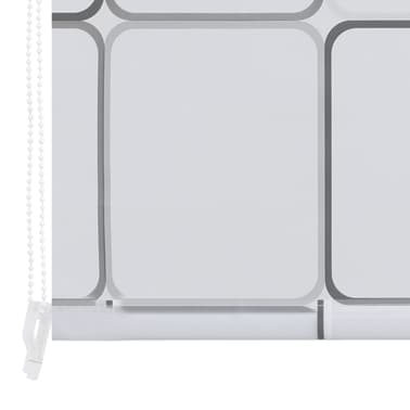 vidaXL Dušo roletas, 140x240 cm, kvadratų raštas[6/6]