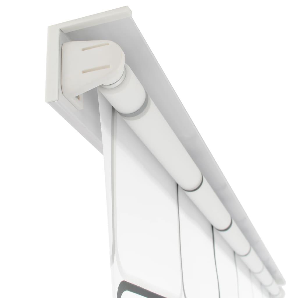 Rolo senčilo za tuš 160x240 cm kvadratni vzorci