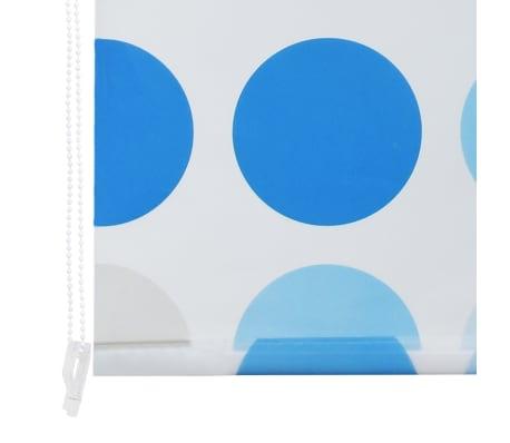 vidaXL Store roulant de douche 80 x 240 cm Cercle[6/6]