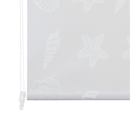 vidaXL Dušo roletas, 120x240 cm, jūros žvaigždžių raštas[5/6]