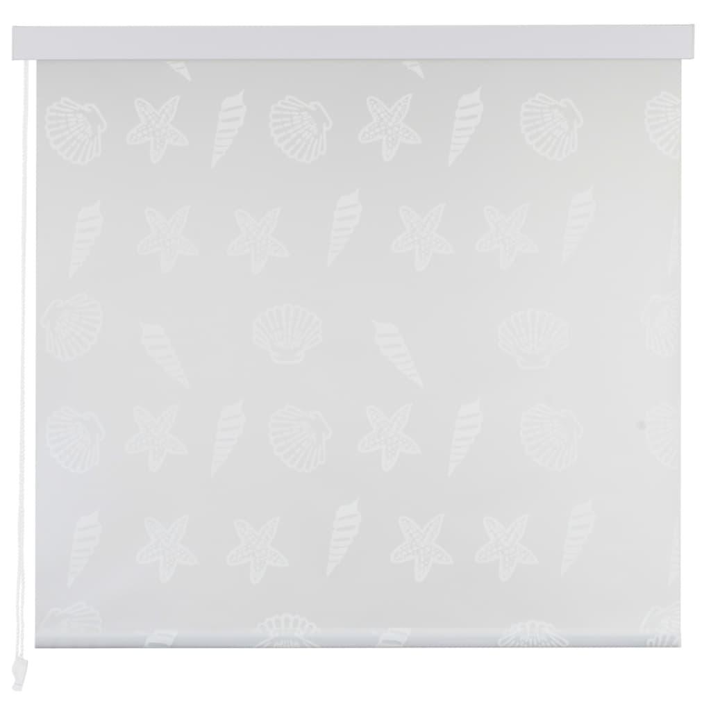 Rolo senčilo za tuš 140x240 cm morski vzorci