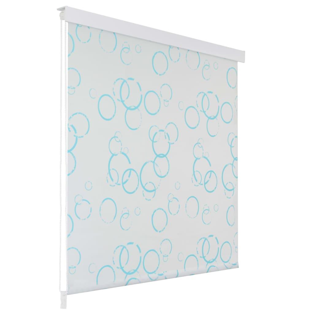 Sprchová roleta 100 x 240 cm bublinkový vzor