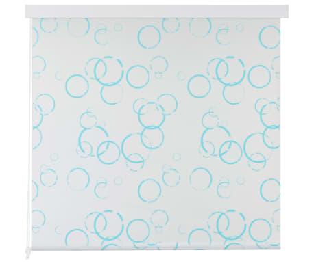 vidaXL Shower Roller Blind 140x240 cm Bubble[2/6]