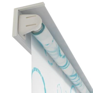 vidaXL Shower Roller Blind 140x240 cm Bubble[3/6]