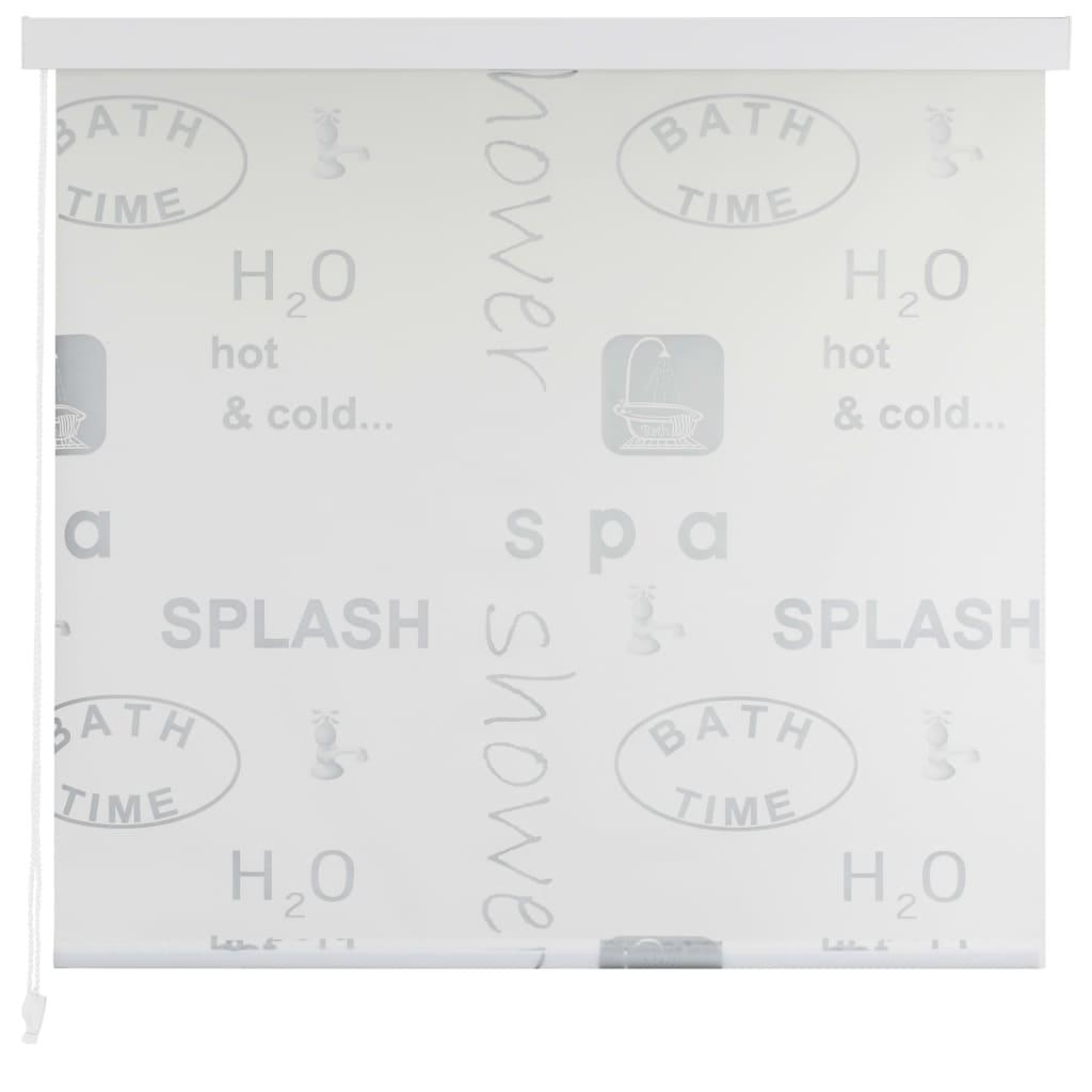 Rolo senčilo za tuš 160x240 cm Splash