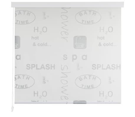 vidaXL Store roulant de douche 180 x 240 cm Éclaboussure[2/6]