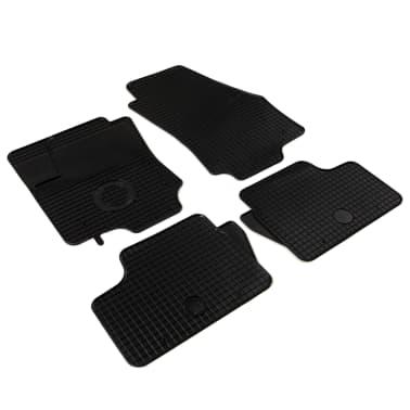 vidaXL Zestaw 4 gumowych dywaników samochodowych do Opla Astra H[2/6]