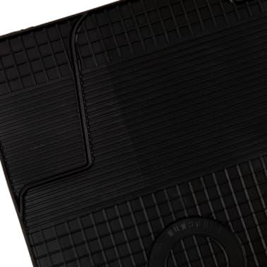 vidaXL Zestaw 4 gumowych dywaników samochodowych do Opla Astra H[3/6]