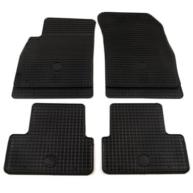 vidaXL Gummi-Fußmatten-Set 4-tlg. für Opel Astra J Cruze Orlando[1/6]