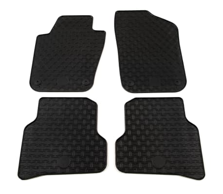 acheter vidaxl tapis de voiture sur mesure 4 pcs caoutchouc vw polo ibiza pas cher. Black Bedroom Furniture Sets. Home Design Ideas