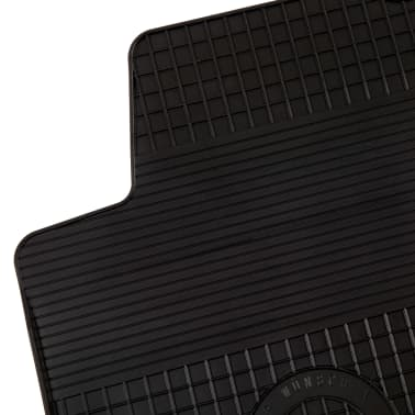 vidaXL Set alfombrillas coche goma 4 piezas VW Golf IV/Bora New Beetle[3/6]