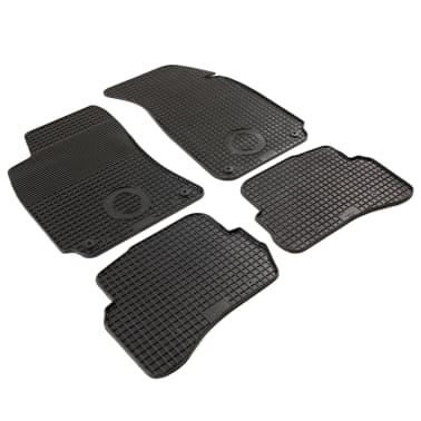 vidaXL Zestaw 4 gumowych dywaników samochodowych do VW Passat[2/6]