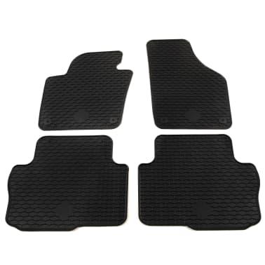 vidaXL 4 Piece Tailored Car Mat Set Rubber Seat Alhambra Sharan[1/6]