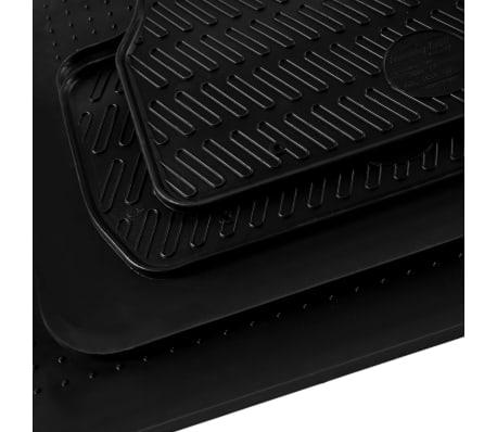 vidaXL Gummi-Fußmatten-Set 4-tlg. für Seat Alhambra Sharan[5/6]