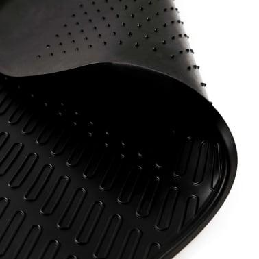 vidaXL Skreddersydd bilmattesett 4 deler gummi Audi A6 (C6)[4/6]
