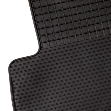 vidaXL 4 Piece Tailored Car Mat Set Rubber BMW 3 Series (E90)[3/6]
