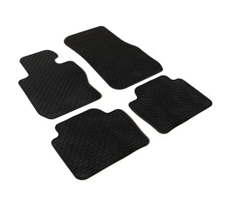 vidaXL Zestaw 4 gumowych dywaników samochodowych do BMW Serii 3 i 4[2/6]