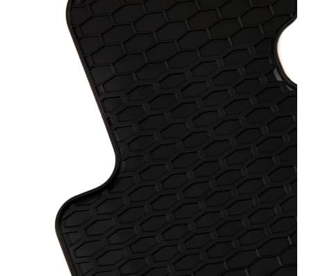 vidaXL Zestaw 4 gumowych dywaników samochodowych do BMW Serii 3 i 4[3/6]