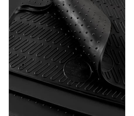 vidaXL Zestaw 4 gumowych dywaników samochodowych do BMW Serii 3 i 4[6/6]