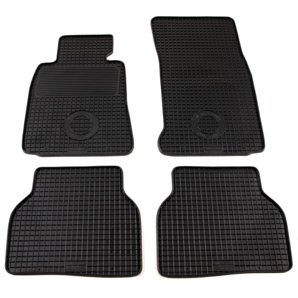vidaXL 4dílná sada gumových autokoberců na míru pro BMW řady 5 (E39)