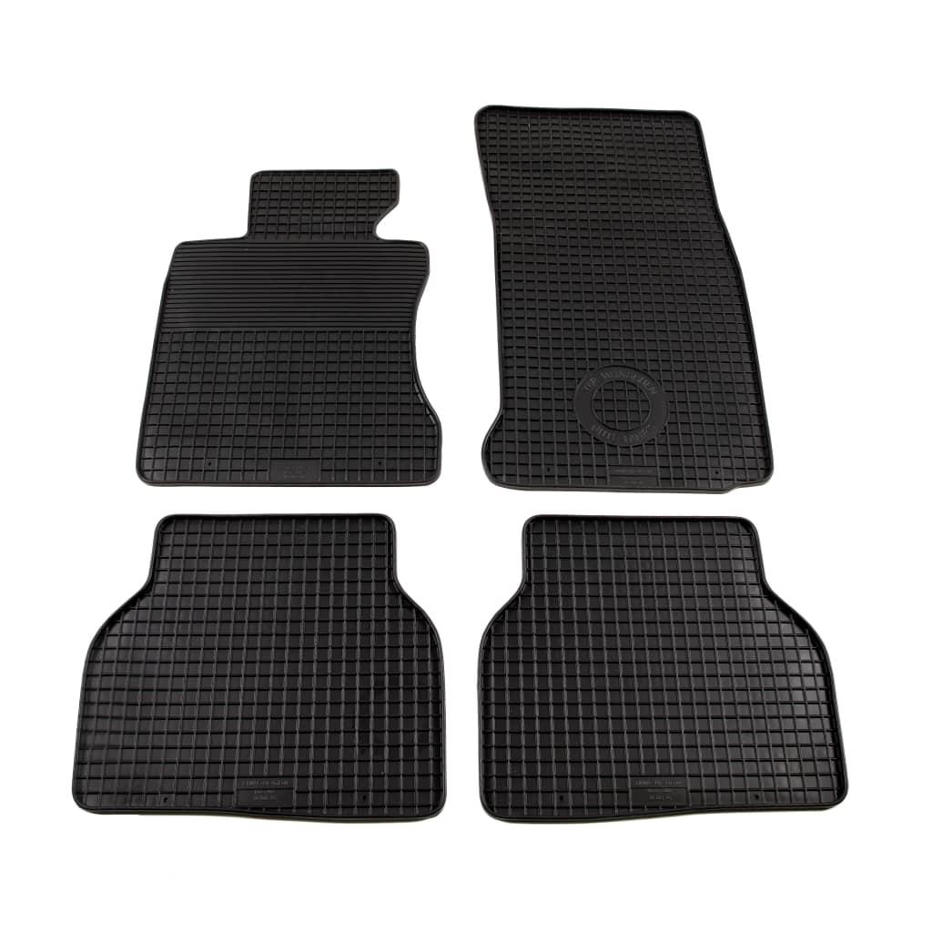 vidaXL 4dílná sada gumových autokoberců na míru pro BMW řady 5 (E60)