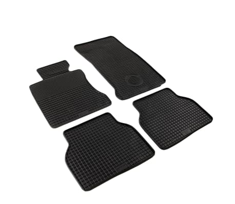 vidaXL Automattenset voor BMW 5 Series (E60) rubber 4-delig[2/6]