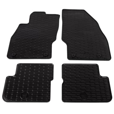 acheter vidaxl set de tapis de voiture adapt 4 pcs pour opel corsa d corsa e pas cher. Black Bedroom Furniture Sets. Home Design Ideas