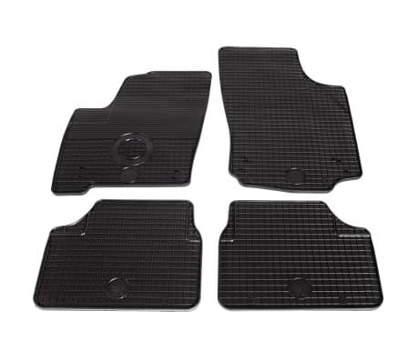 vidaXL Set de tapis de voiture sur mesure 4 pcs Caoutchouc Opel Meriva[1/6]