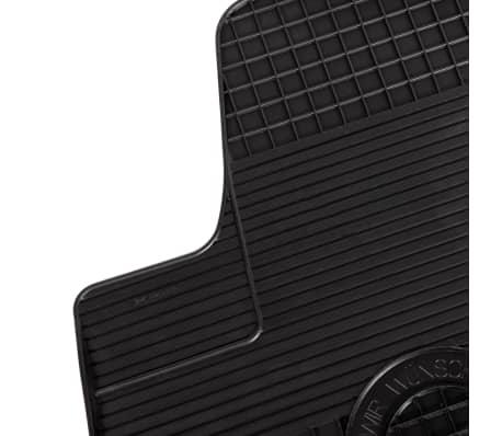 vidaXL Set de tapis de voiture sur mesure 4 pcs Caoutchouc Opel Meriva[3/6]