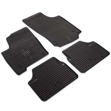 vidaXL Set de tapis de voiture sur mesure 4 pcs Caoutchouc Opel Meriva[2/6]