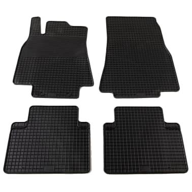 vidaXL Gummi-Fußmatten-Set 4-tlg. für Mercedes W212 E-Klasse[1/6]