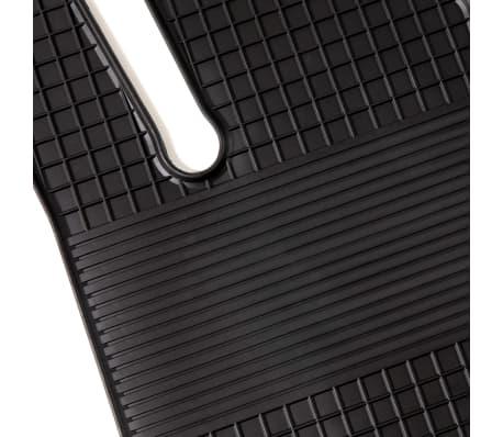 vidaXL Gummi-Fußmatten-Set 4-tlg. für Mercedes W212 E-Klasse[3/6]