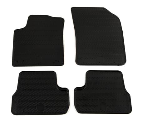 acheter vidaxl set de tapis de voiture 4 pcs pour peugeot 208 c3 ds3 2008 pas cher. Black Bedroom Furniture Sets. Home Design Ideas